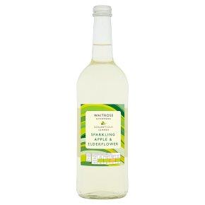 Waitrose Sparkling Apple & Elderflower