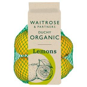 Waitrose Duchy Organic lemons
