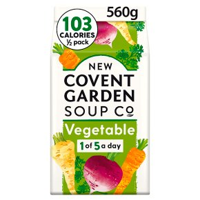 New Covent Garden winter vegetable soup