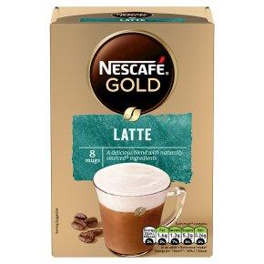 NESCAFÉ GOLD Latte Coffee 8 sachets