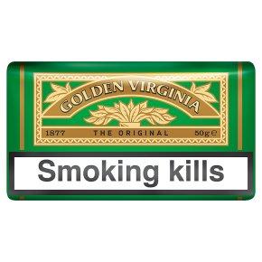 Golden Virginia hand rolling tobacco