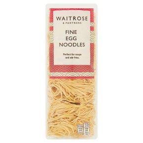 Waitrose fine egg noodles