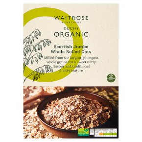 Waitrose Duchy Organic rolled jumbo oats