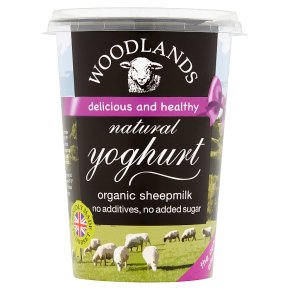 Woodlands live sheeps milk yoghurt
