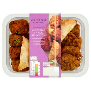 Waitrose Indian Vegetable Snack Selection