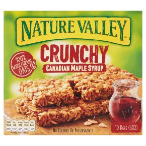 Nature Valley Crunchy Canadian Maple Syrup Cereal Bars