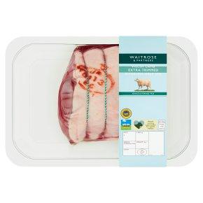 Waitrose Boneless Extra Trimmed Welsh Half Leg Of Lamb