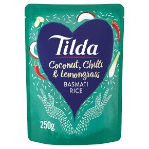 Tilda steamed coconut chilli & lemongrass basmati rice