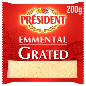 Président Finely Grated Emmental Cheese