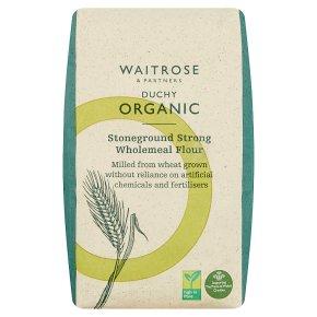 Waitrose Duchy Strong Wholemeal Bread Flour