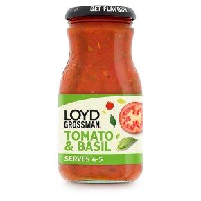 Loyd Grossman tomato & basil pasta sauce
