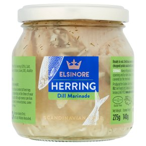 Elsinore herrings in dill marinade