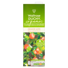 Waitrose Duchy Organic pure orange juice from concentrate