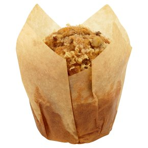 Carrot, pineapple & raisin muffin