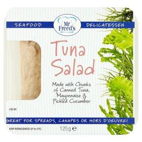 Mr Freed's tuna rillette