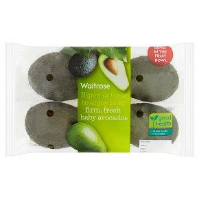 essential Waitrose home ripening baby avocados