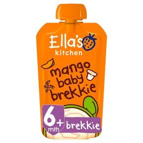 Ella's Kitchen Organic mango baby brekkie - from stage 1 baby food