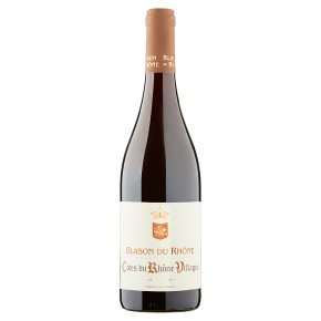 Blason du Rhone Cotes du Rhone Villages, French Red Wine