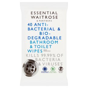 essential Bathroom and Toilet Wipes