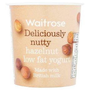 Waitrose deliciously nutty hazelnut low fat yogurt