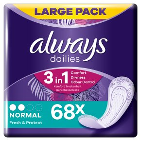 Always daily pantyliners normal