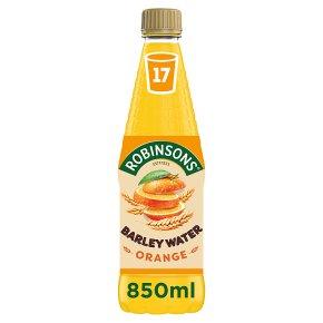 Robinsons orange barley water