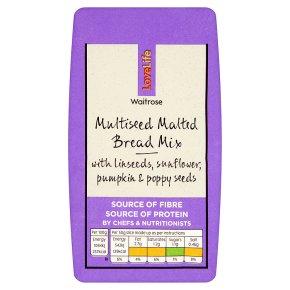 Waitrose LoveLife multi-seed malted bread mix