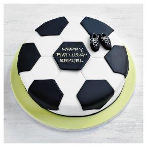 Fiona Cairns Football Cake - 25cm