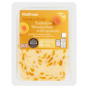 Waitrose Wensleydale with Apricots Strength 2
