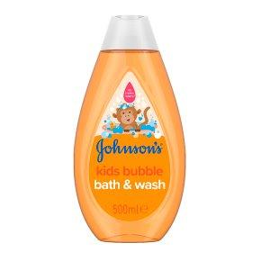 Johnson's baby 2in1 bubble bath & wash