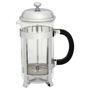 Waitrose stainless steel 8 cup cafetiere