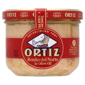 Ortiz white tuna fillets in olive oil