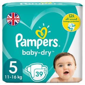Pampers Baby-Dry Size 5