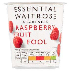 Waitrose fruit fool raspberry