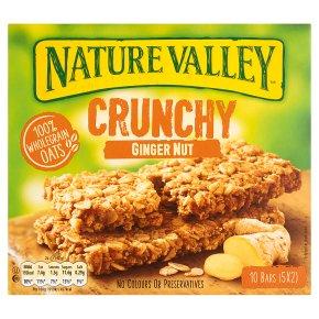 Nature Valley Crunchy Ginger Nut Crunch Cereal Bars