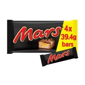 Mars bars, 4 pack