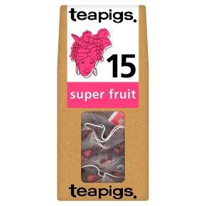 Teapigs super fruit 15 tea bags