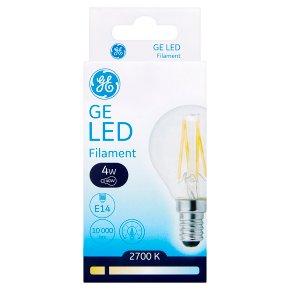GE LED Filament Round