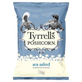 Tyrrells Poshcorn Sea Salted