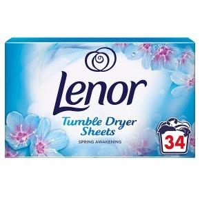 Lenor Tumble Dryer Sheets Spring Awakening