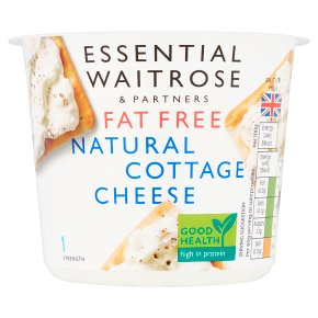 Waitrose LoveLife Calorie Controlled fat free cottage cheese