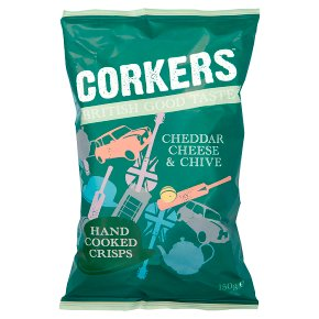Corkers red leicester & caremalised onion