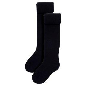 Waitrose 2pk Black tights size: 7-8yrs