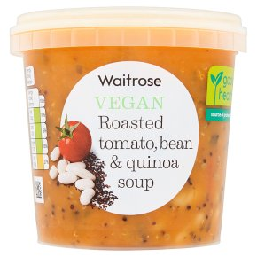 Waitrose Vegan Roasted Tomato, Bean & Quinoa Soup