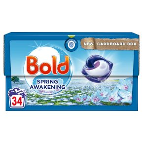 Bold All in 1 with lenor 36 washes