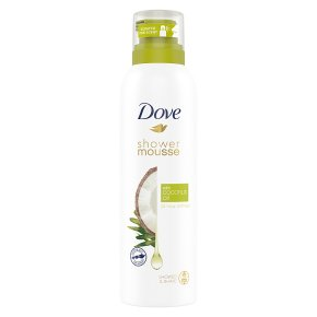 Dove Shower Mousse with Coconut Oil