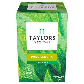 Taylors of Harrogate pure sencha green tea 20 tea bags