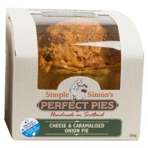 Simple Simon's Cheese & Onion Pie