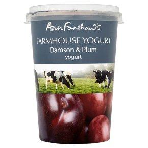 Anne Forshaw's farmhouse yogurt damson & plum