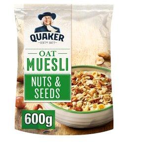 Quaker Oats Oat Muesli Nuts & Seeds